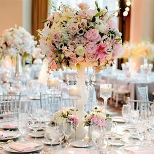 Lush Table Arrangements