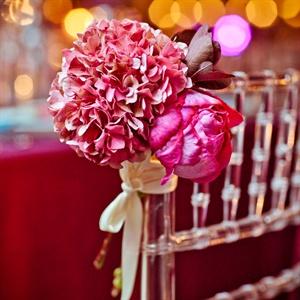 Pink Hydrangea Decor