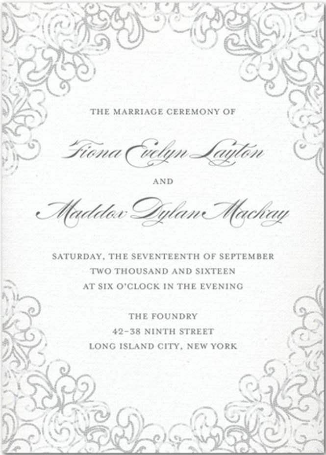 Invitation Wording For Pre Wedding Dinner