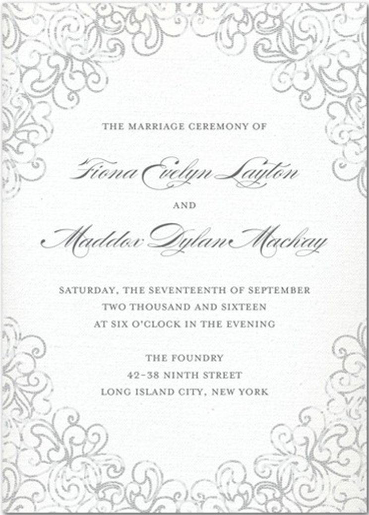 Wedding Invitations A Plete Checklist Planning Stationery