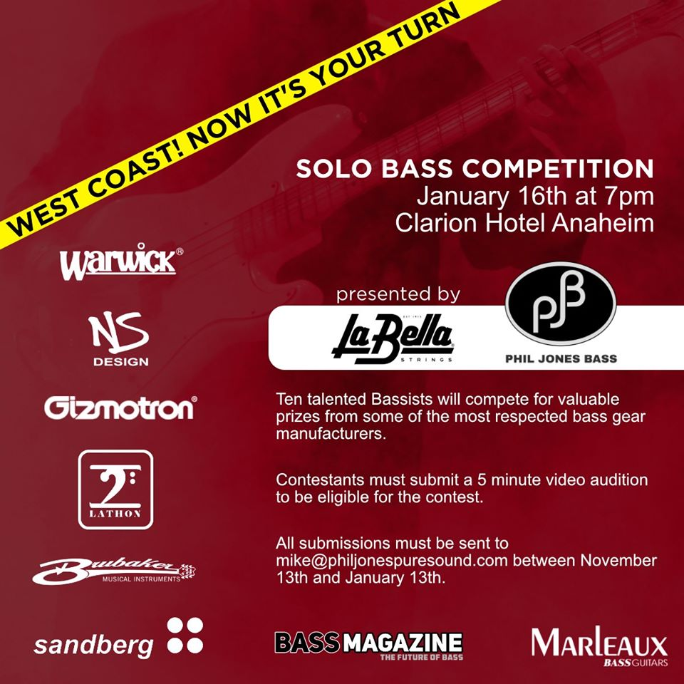 NAMM 2020 Bass Solo Competition Promo