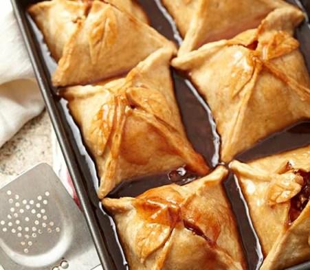 Saucy Apple Dumplings! Easy to make classic apple pie!