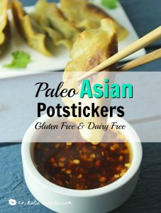 Paleo Asian Potstickers