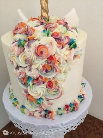 How To Make A Magical Unicorn Cake Xo Katie Rosario