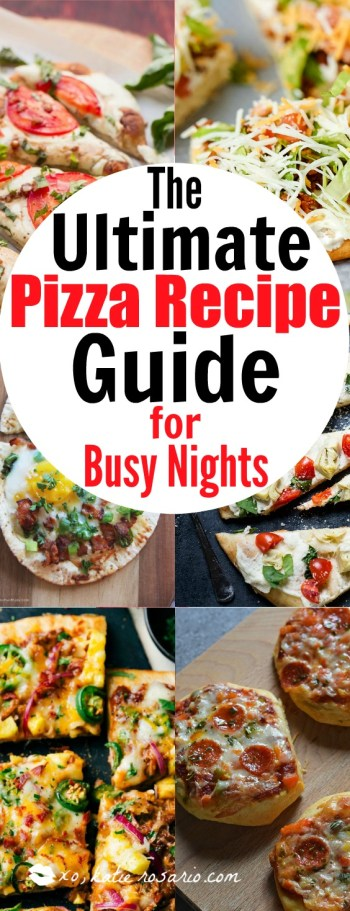 10 amazing easy pizza recipes for busy nights