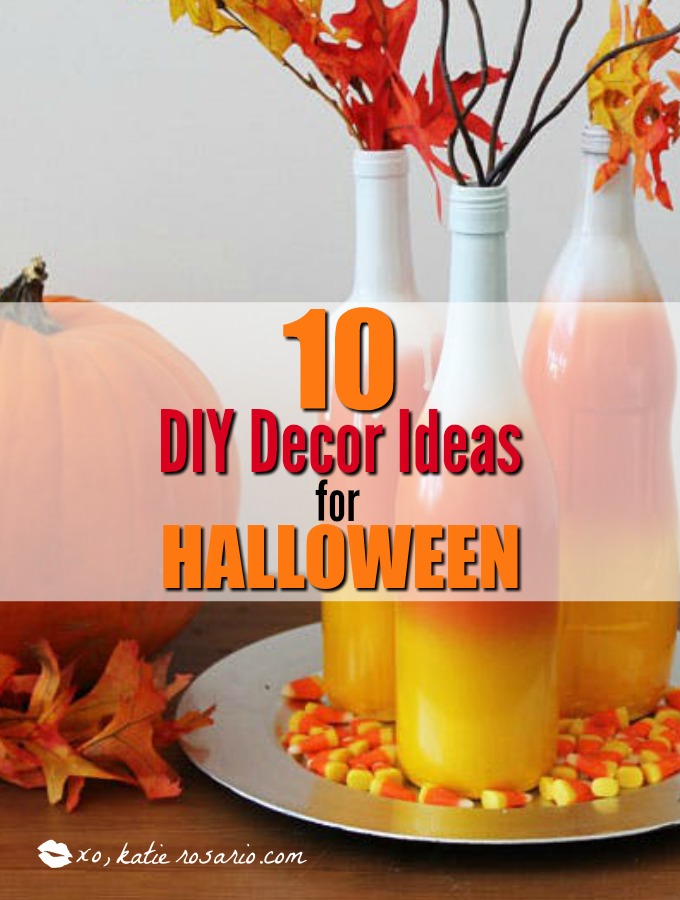 10 diy decorations for halloween