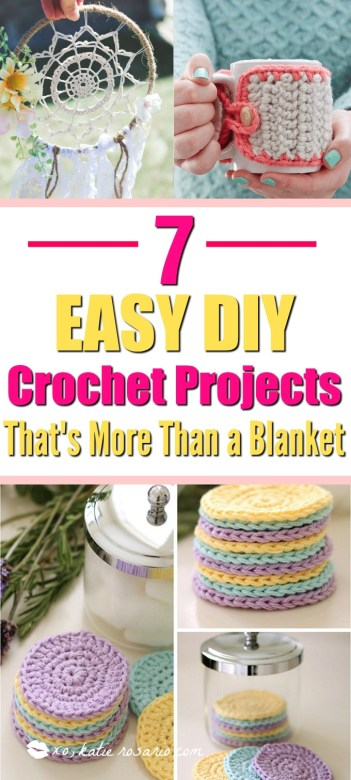 diy crochet projects for beginners patterns blanket