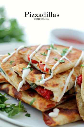 pizza and quesodillas pepperoni pizzadillas 10 amazing easy pizza recipes for busy nights
