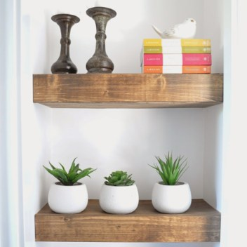 under $10 hanging shelves diy bedroom decor ideas projects. I just moved and I needed to update my old bedroom decorations. So by searching Pinterest I saw these great ideas! I love decorating so this is very exciting for me! I don't have a lot of money to spend on new décor so I made my own DIY bedroom décor! Decorate for less with these dollar store DIY bedroom projects. These ideas can be made for under $10 or at the dollar store!