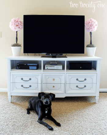 turn your own dressers into tv stands 7 home hacks to improve your life