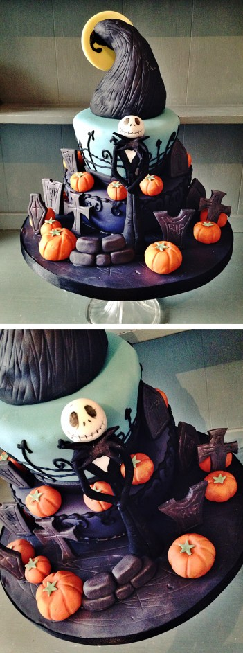 18 Hauntingly Beautiful Halloween Cake Ideas - xo, Katie Rosario