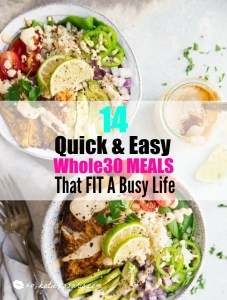 14 Busy Weeknight Meals That Are Whole30 Friendly