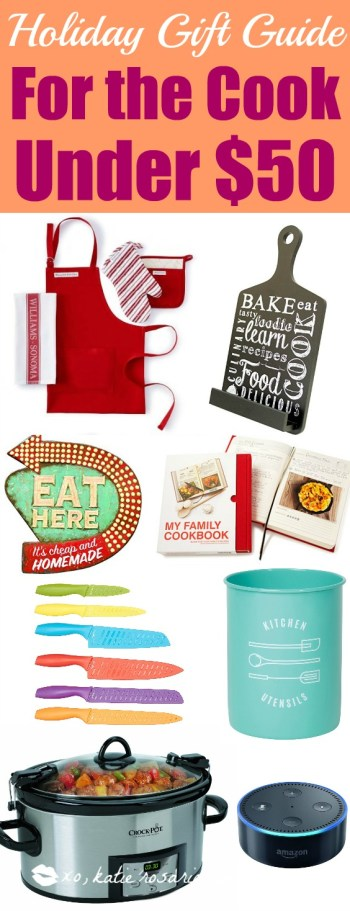 This holiday shopping list is amazing! I think this post is so helpful for staying on a budget. Often times cooking gifts are so expensive but these are so useful for the kitchen and under budget. This is for the home cooks! Love it!