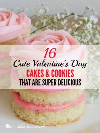 16 Super Cute Valentine S Day Cakes Cookies That Are Super