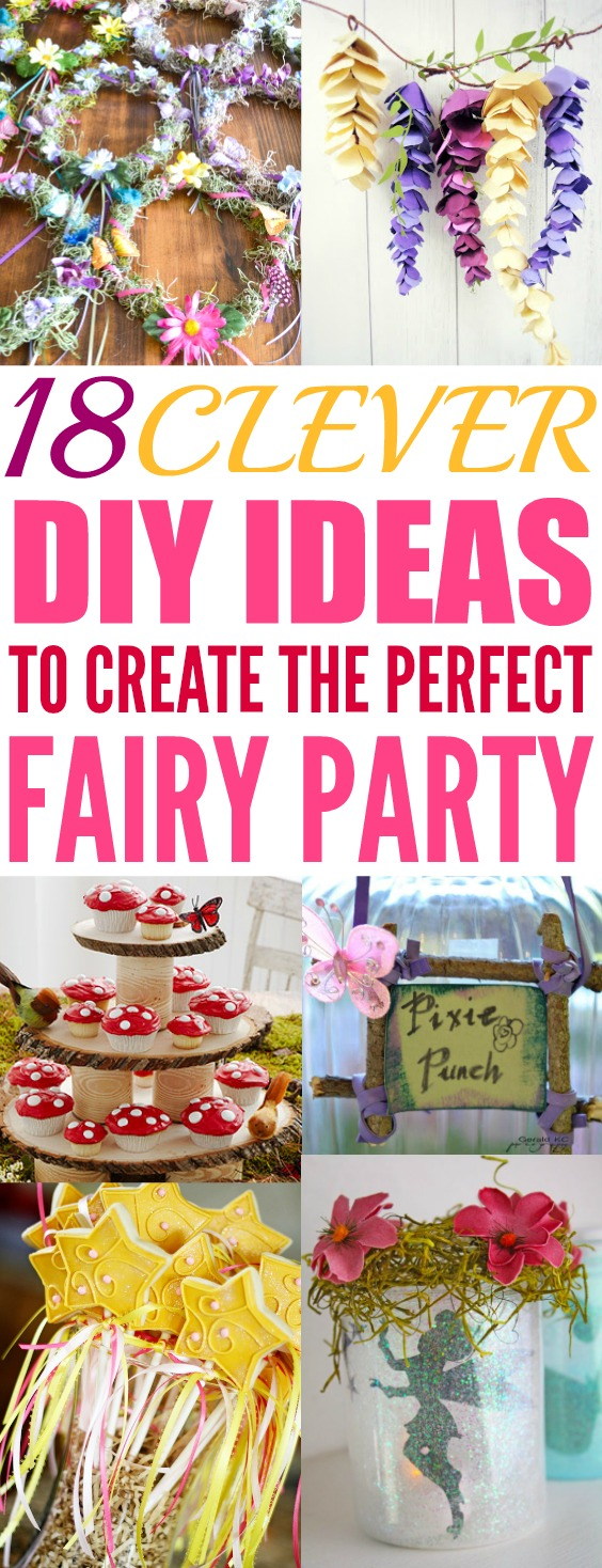 Delicieux I Love A Good Party And These DIY Fairy Party Ideas Are Amazing! I Can