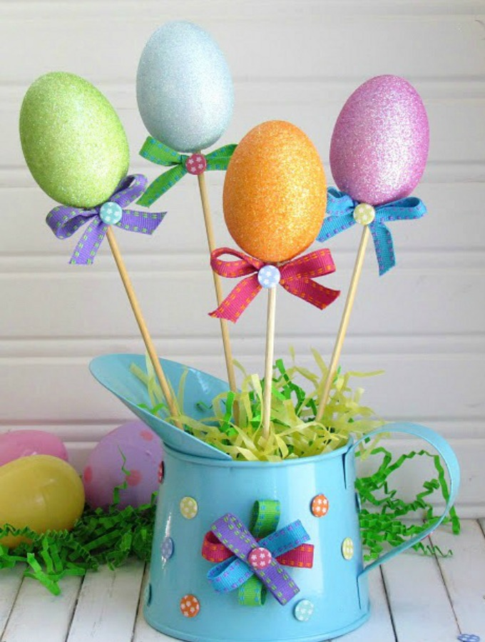 Diy Spring Decor: 14 Cute DIY Easter Decorations To Welcome Spring