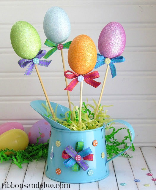 Easter Is Almost Here! I Love These Spring Home Décor Ideas. Lots Of Fun