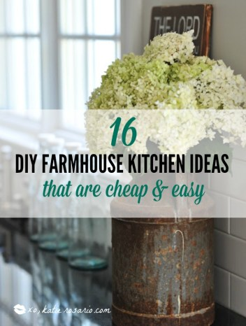 16 DIY Farmhouse Kitchen Ideas That Are Cheap and Easy - XO, Katie Vintage Home Kitchen Ideas Pin on vintage family ideas, vintage library ideas, vintage table ideas, vintage living ideas, vintage den ideas, vintage art ideas, vintage dining room, vintage decorating, vintage french ideas, vintage bedroom furniture, living room ideas, vintage travel ideas, vintage beauty ideas, vintage loft ideas, vintage cottage kitchens, dining room ideas, vintage spa ideas, vintage school ideas, vintage roofing ideas, vintage pantry ideas,