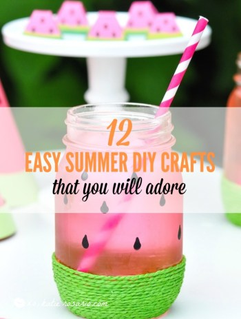 How To Make Easy DIY Summer Crafts Even Kids Can You Will Have A