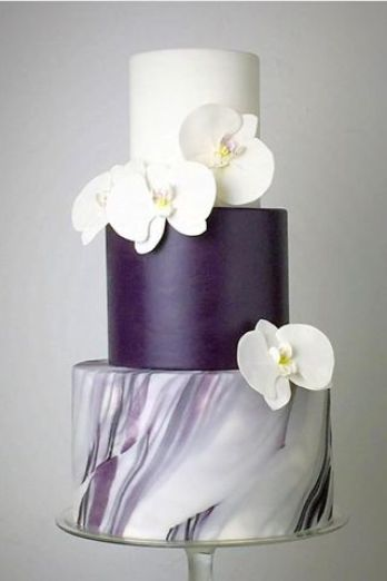 11 Unique And Elegant Marble Wedding Cake Ideas Xo