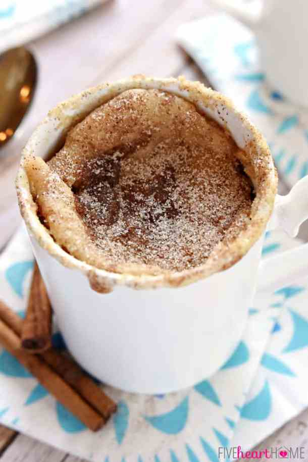 Snickerdoodle Mug Cake | 10 Mug Desserts You Can Make In The Microwave