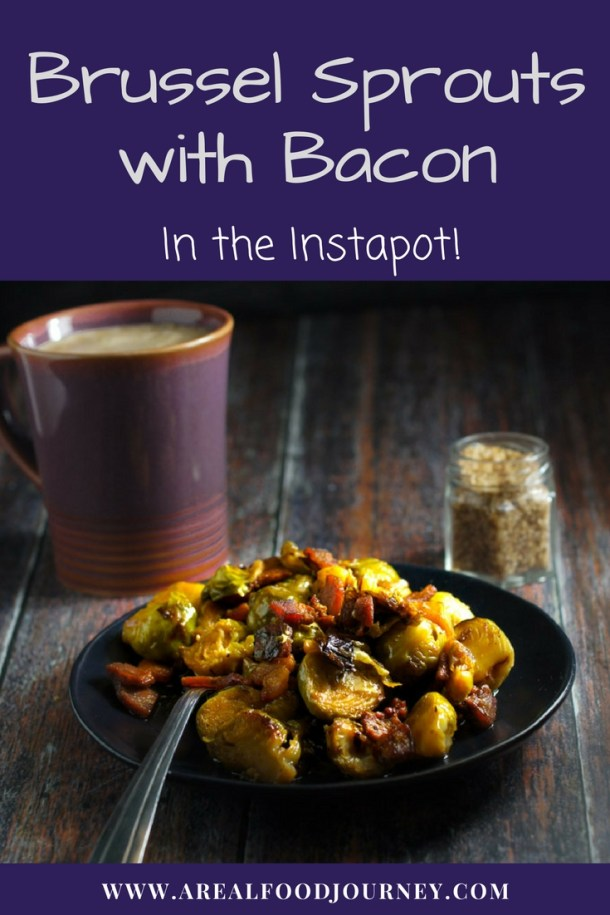 Instant Pot Keto Brussel Sprouts & Bacon | 11 Brilliant Instant Pot Keto Recipes For Busy Weeknights