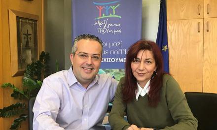 Συνεργασία Ράνυ Γεωργουδάκη με Ηλία Αποστολόπουλο