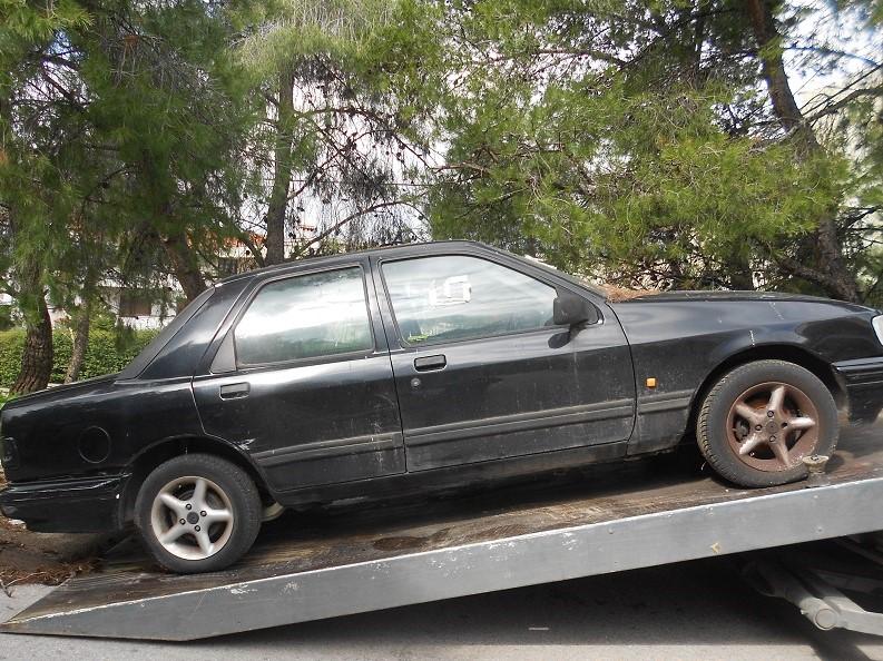 Αποσύρσεις εγκαταλελειμμένων αυτοκινήτων