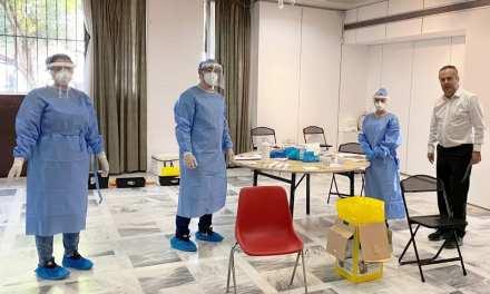 Προληπτικά τεστ για τον ιό covid -19 στο προσωπικό του Δήμου Παπάγου – Χολαργού