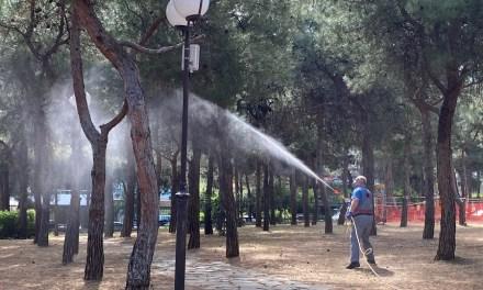 Ψεκασμοί για την καταπολέμηση κουνουπιών