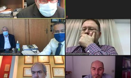 Συνεδρίαση Ομάδας Εργασίας του Δήμου Παπάγου – Χολαργού για τη διαχείριση και την αντιμετώπιση των αρνητικών συνεπειών της πανδημίας