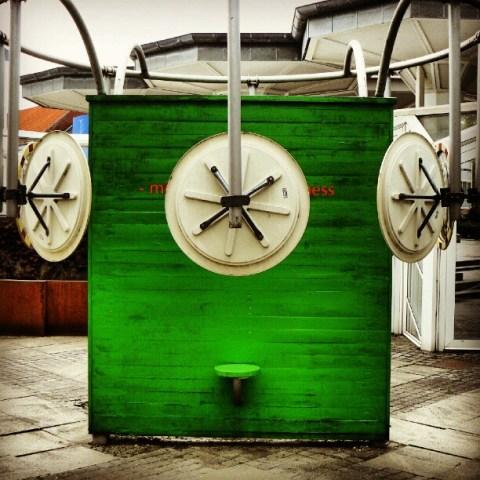 Green art box