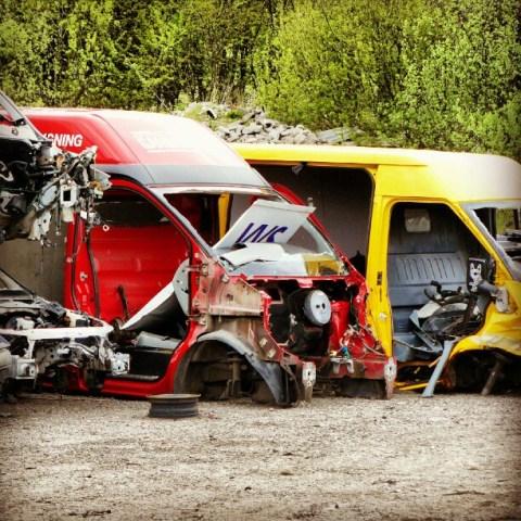 Once vans….