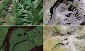 Απίστευτες φωτογραφίες: Ανθρώπινα πρόσωπα στην επιφάνεια της Γης!