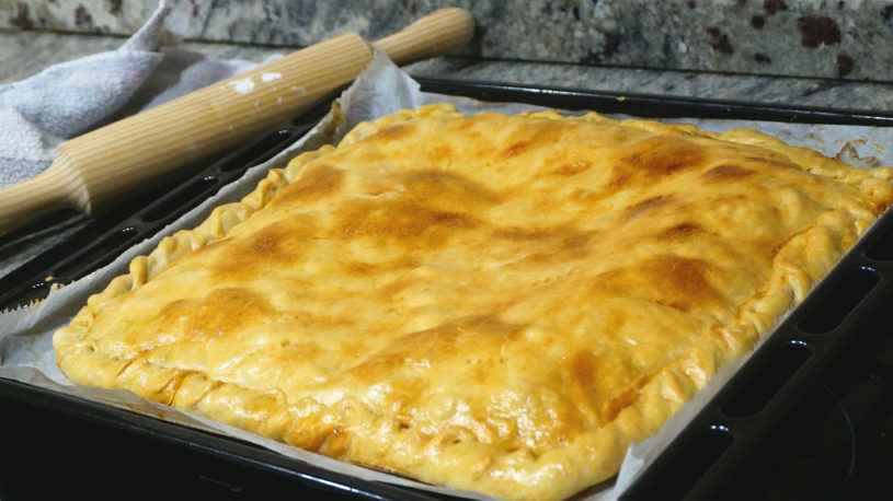 Empanada de merluza apta para celíacos