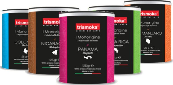 Trismoka Single Origin 5er gemahlen