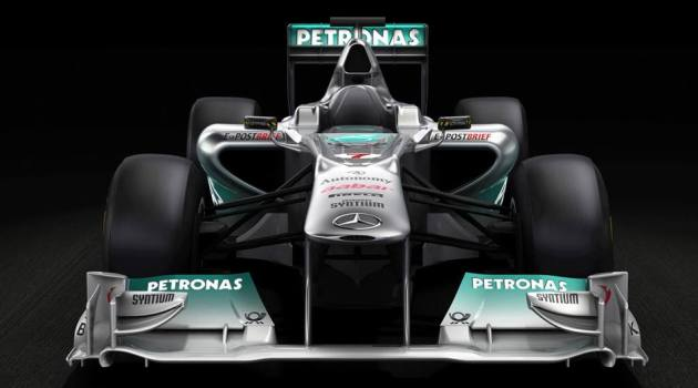 The Winning Formula 1 AMG Car