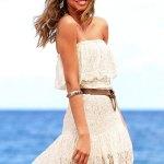 Victoria's Secret Strapless Lace Dress Review