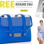 Beauty.com GWP Richard Chai Bag with Samples