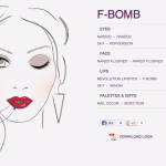 Urban Decay Fall 2013 Face Chart / How to Looks