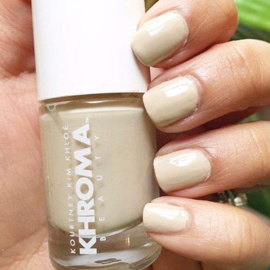 Khroma Beauty Nail Polish in Buff Swatch