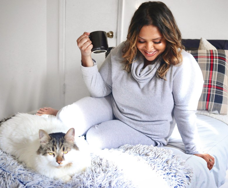 How to Style plus size loungewear