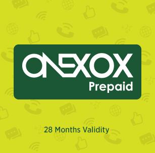 onexox prepaid plan