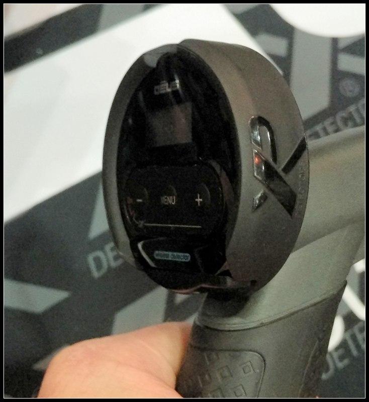 xp deus lite headphone module on stem