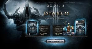 Reaper of Souls to debut in late March