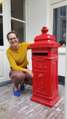 Natalie with Post Box 2