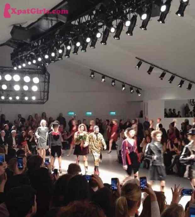 Full House catwalk show Vivienne Westwood