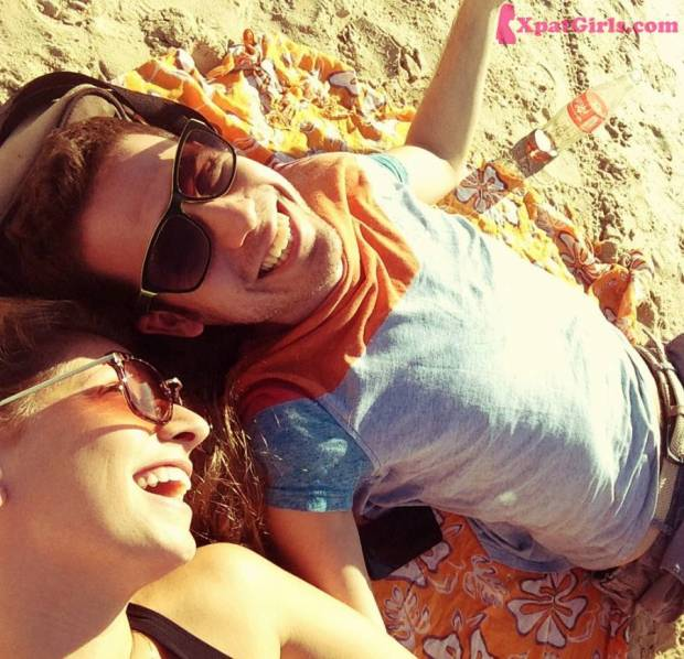 Relaxing at the beach at home- Tel Aviv, Israel