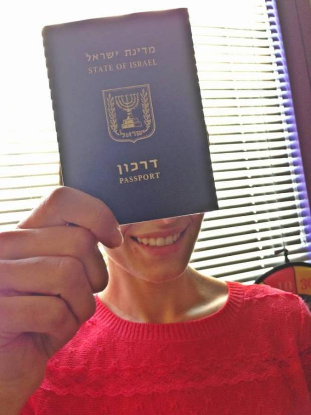 The day when I received my Israeli citizenship