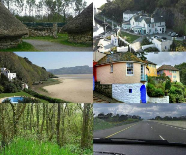 The picturesque Welsh countryside is simply magical
